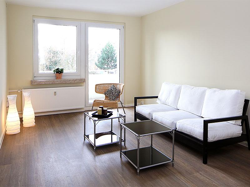 Einrichtungsbeispiel Wohnzimmer